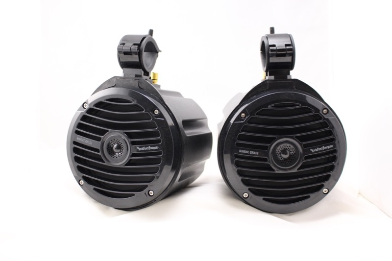 "Offroad Trail Can 6.5"" Speaker Enclosure Pair w/ Rockford Fosgate Prime"