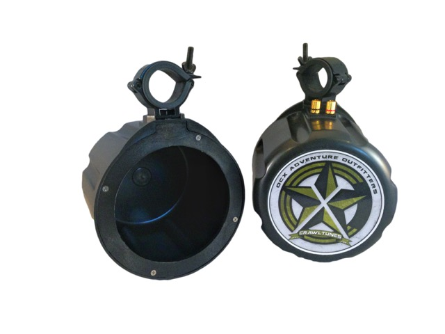 "Offroad Trail Can 6.5"" Speaker Enclosure Pair Only"