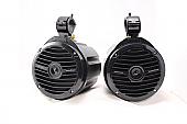 "Offroad Trail Can 6.5"" Speaker Enclosure Pair w/ Rockford Fosgate Prime"