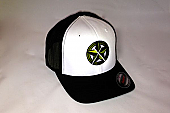 CrawlTunes Black & White Flexfit Trucker Hat