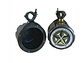 """Offroad Trail Can 6.5"""" Speaker Enclosure Pair Only"""